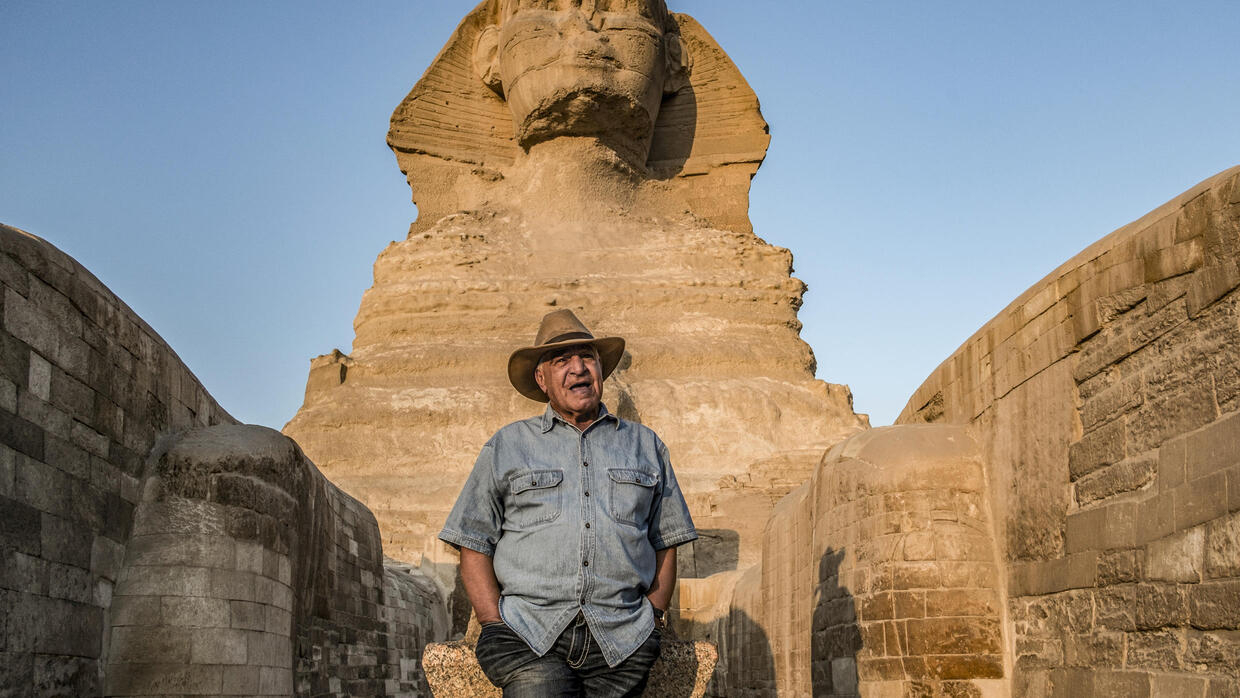 Egyptian archaeologist Hawass sees role as 'custodian' of antiquities