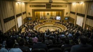 اجتماع وزراء الخارجية العرب في جامعة الدول العربية في القاهرة 10 آذار/مارس 2016