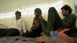 Fairuz Mohammed et sa famille, réfugiés yéménites à Djibouti
