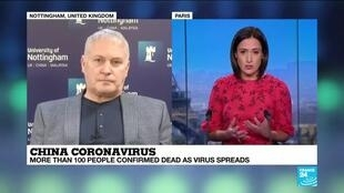 """2020-01-28 14:33 Coronavirus: """"The real risk are the people who have travelled to Wuhan and return to their countries"""""""