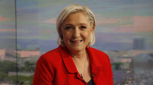 Marine Le Pen était jeudi 18 mai 2017 sur le plateau de TF1.
