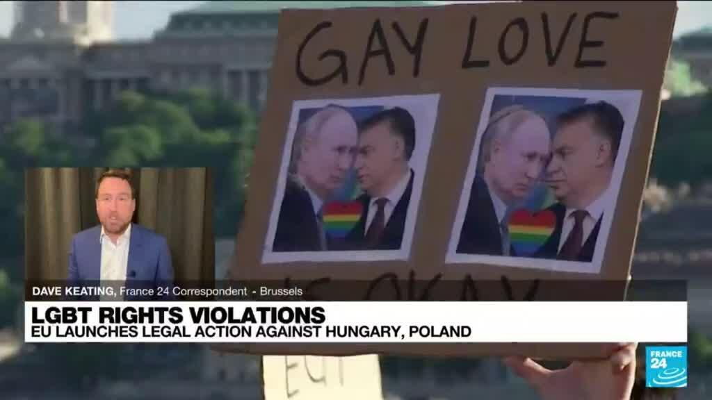 2021-07-15 14:05 EU launches legal action against Hungary, Poland over LGBTQ rights