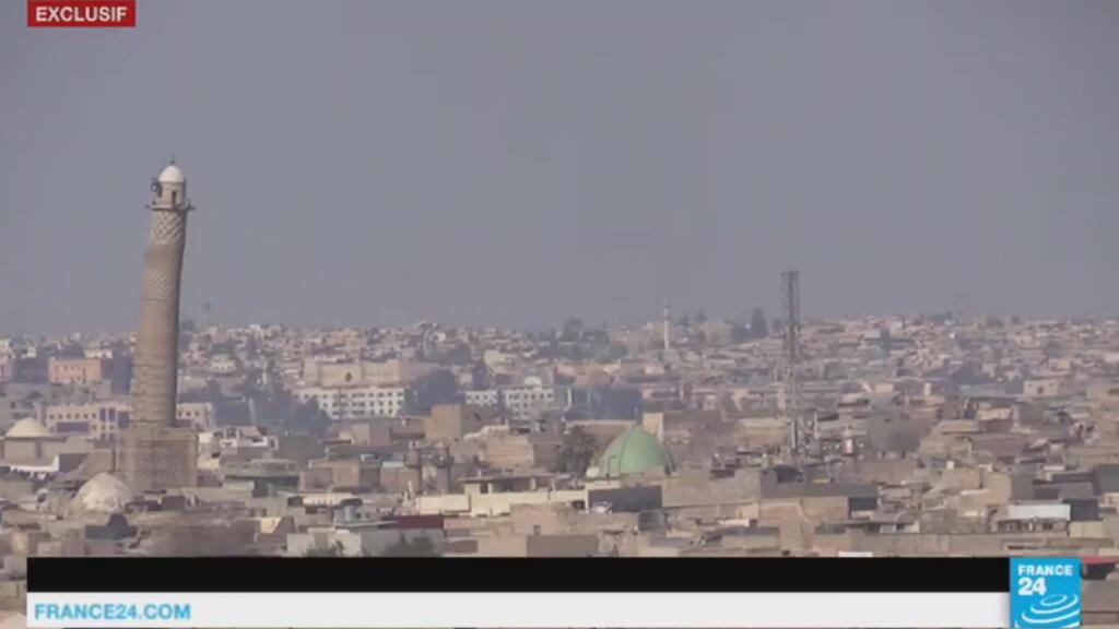 جانب من مدينة الموصل في العراق