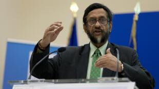 Rajendra Pachauri avait reçu le prix Nobel de la Paix, en 2007, en tant que représentant du Giec, institution lauréate au côté de l'ancien vice-président des États-Unis Al Gore.