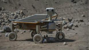 Asimov Jr., un rover imaginée par une des équipes de la compétition Google Lunar XPrize.