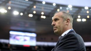 Philippe Saint-André, sélectionneur de l'équipe de France de rugby.