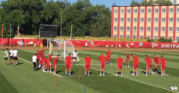 المنتخب المغربي يتدرب الأحد على ملعب فارونيش استعداد لمواجة البرتغال