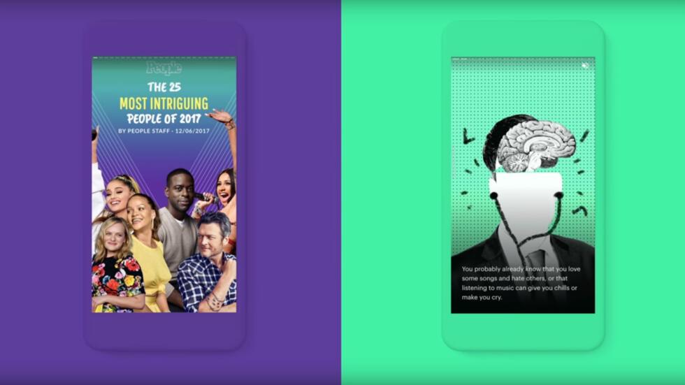 Google teste AMP Stories, un format de stories qui remonte