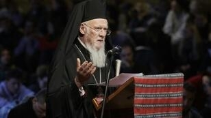 "Patriarch Bartholomew I of Constantinople,known as ""the first among equals"" of Orthodox Christian leaders, holds the fate of the Russian and Ukrainian churches in his hands"