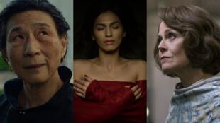 "Madame Gao, Elektra et Alexandra forment le trio de méchantes de ""The Defenders""."