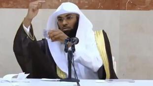 Le prédicateur saoudien, le cheikh al-Bandar Kahibari