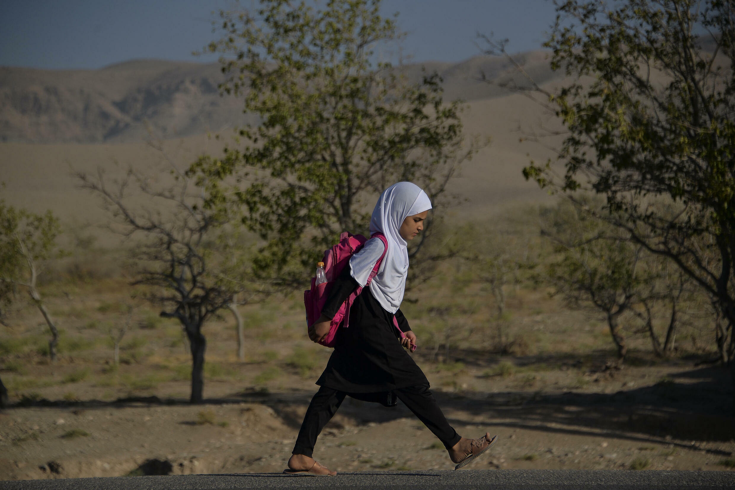 Girls have returned to some secondary schools in a northern province of Afghanistan, but they remain barred from classrooms in much of the country