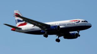 Un avión de la aerolinea British Airways, la cual cancela vuelos a El Cairo, Egipto durante una semana. Foto archivo Francia, 20 de marzo de 2019.