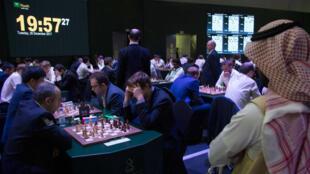 Le tournoi du Roi Salman est organisé à Riyad jusqu'au samedi 30 décembre.