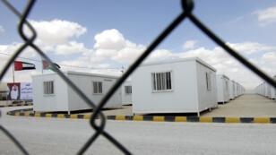 Un camp de réfugiés en Jordanie.