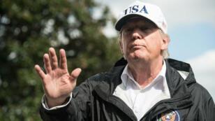 Donald Trump à Washington le 14 septembre 2016.