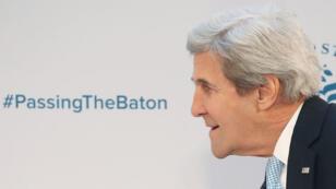 John Kerry à Washington le 10 janvier 2016.