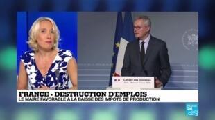 2020-07-08 18:08 Covid-19 en France : la destruction d'emplois a doublé par rapport à l'année dernière