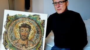Dutch art detective Arthur Brand recovered the missing mosaic of St Mark, a rare piece of stolen Byzantine art, in Monaco