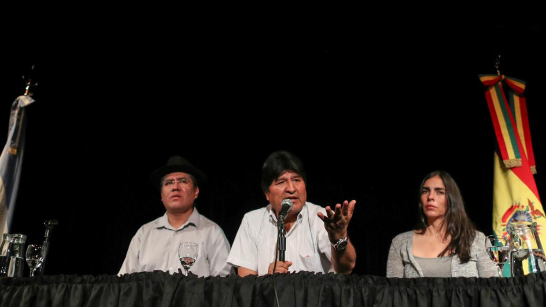 Lors d'une conférence de presse à Buenos Aires mardi 17 décembre, Evo Morales a déclaré qu'il mettrait tout en œuvre pour permettre à son parti de triompher aux élections en Bolivie.