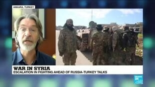 2020-03-02 14:02 What are the chances of a ceasefire deal being reached in Moscow between Turkey and Russia?