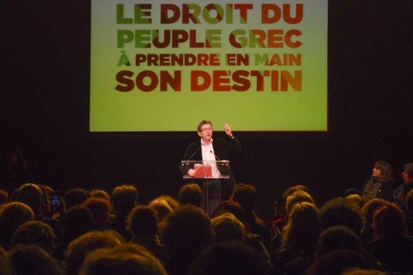 """Jean-Luc Mélenchon déclare à plusieurs reprises que """"la dette grecque ne pourra pas être payée"""""""