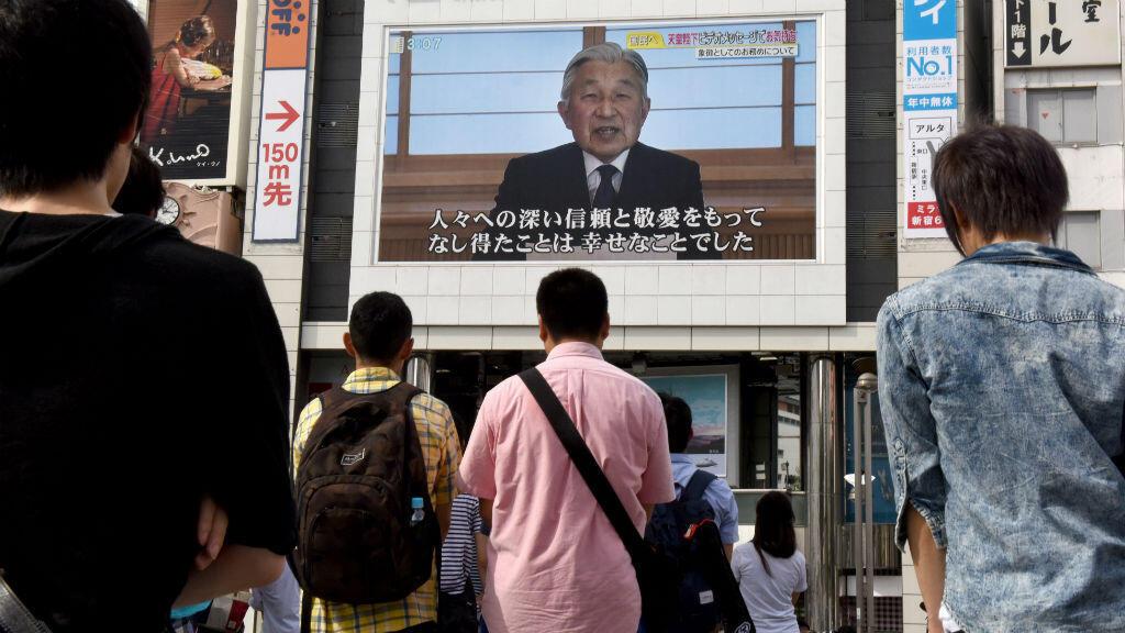 L'empereur japonais Akihito est âgé de 82 ans.