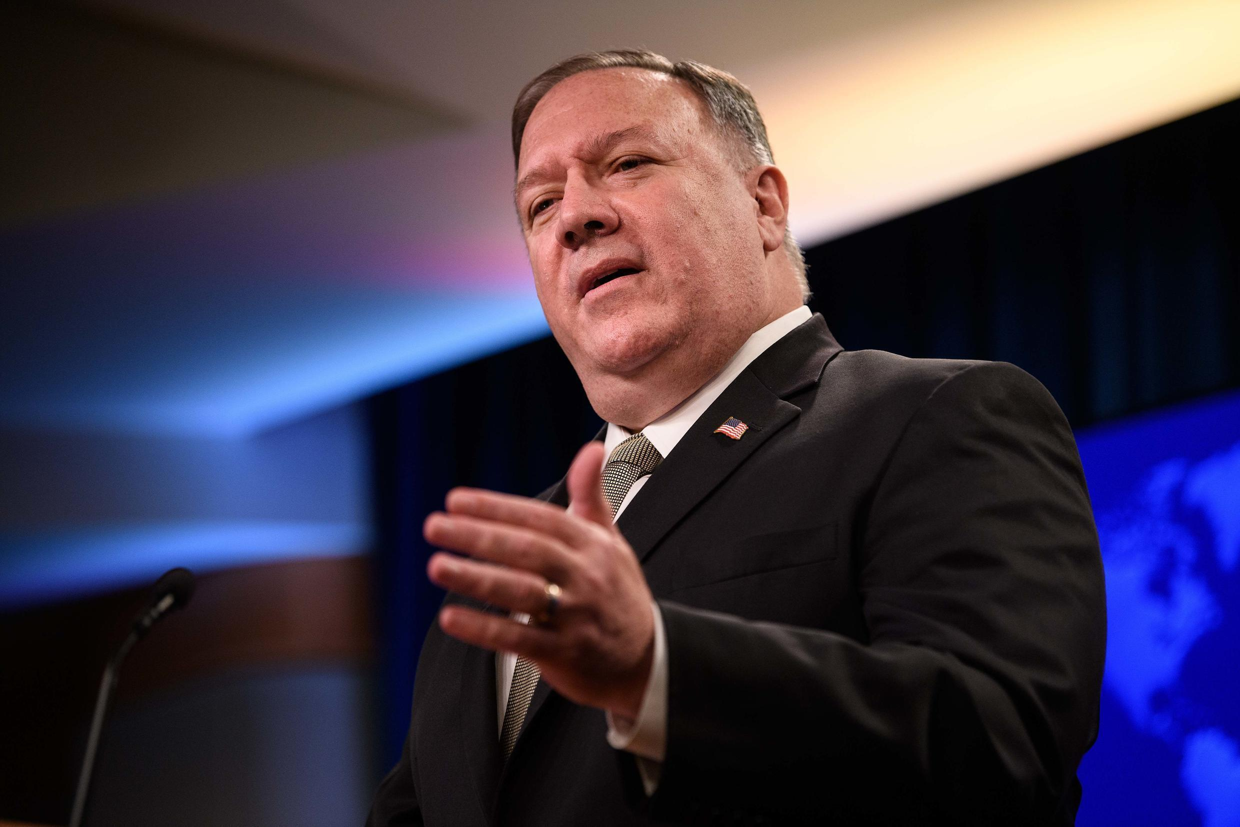 US Secretary of State Mike Pompeo announced sanctions on the prosecutor of the International Criminal Court, Fatou Bensouda