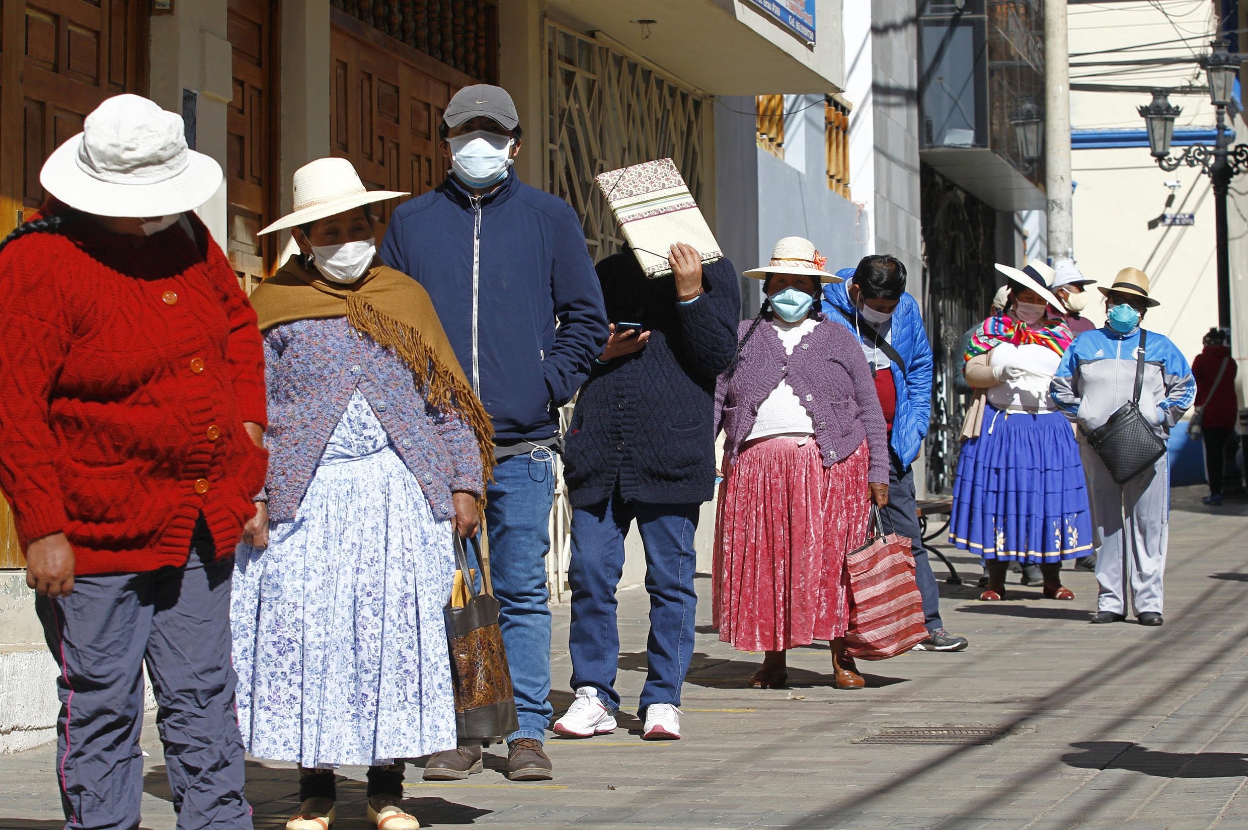 Peru has been particularly hard-hit by the coronavirus, with more than 100,000 cases and at least 3,000 deaths.