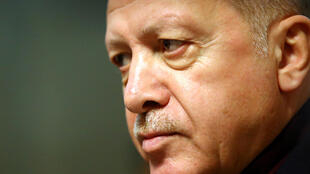 الرئيس التركي رجب طيب أردوغان يغادر بعد المنتدى العالمي للاجئين في الأمم المتحدة بجنيف، سويسرا، 17 ديسمبر/كانون الأول 2019