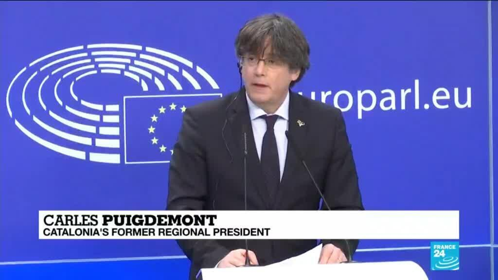 2021-03-09 13:11 EU Parliament strips Puigdemont, two other Catalans of immunity