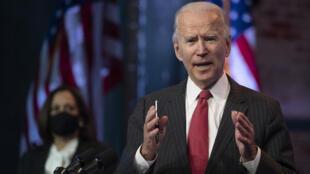 Joe Biden à Wilmington, dans le Delaware, le 19 novembre 2020