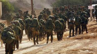Gilad Halpern faisait partie des réservistes de l'armée israélienne pénétrant dans la bande de Gaza en 2009