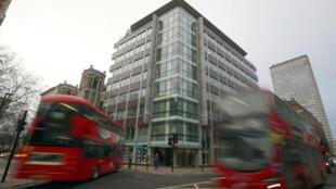 El edificio en donde se encuentran las oficinas de Cambridge Analytica en Londres, el 23 de marzo de 2018.