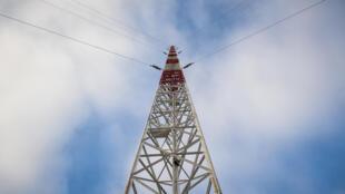 Un émetteur radio dans le centre de la France