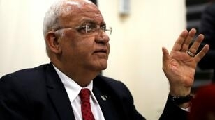 Saeb Erekat, secretary general of the PLO, says the Palestinian leadership was not consulted on a US-led Middle East economic conference next month in Bahrain