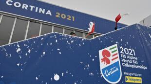 Le super-G messieurs des Mondiaux de ski alpin de Cortina d'Ampezzo (Italie) prévu mardi, repoussé à jeudi en raison de la météo