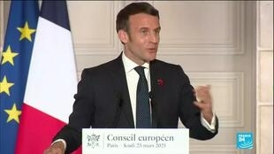 2021-03-31 13:01 Macron to address the nation as France's epidemic surges, new restrictions expected