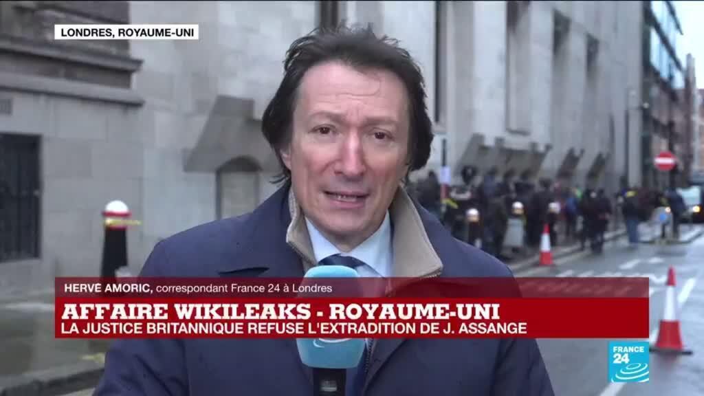 2021-01-04 12:31 La justice britannique préoccupé par l'état de santé d'Assange, refuse son extradition vers les USA