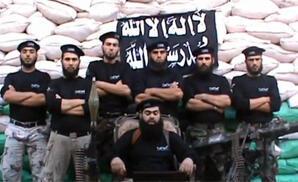 La brigade qui a revendiqué l'assassinat du commandant Abou Abbas. (Crédit photo : capture d'écran YouTube)