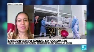 """2021-05-09 02:02 Carolina Corcho: """"Colombia necesita una reforma a la salud que sea descentralizada"""""""