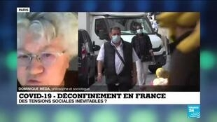 2020-06-01 10:12 Déconfinement en France : des tensions sociales inévitables ?