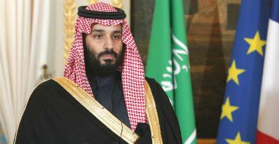 Le prince héritier saoudien Mohammed ben Salmane, le 10 avril 2018, à Paris.