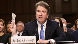 El juez nominado a la Suprema Corte, Brett Kavanaugh, testifica durante su audiencia de confirmación en el Comité Judicial del Senado, en Washington, EE.UU., el 5 de septiembre de 2018.