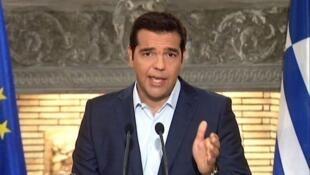 رئيس الحكومة اليونانية أليكسيس تسيبراس