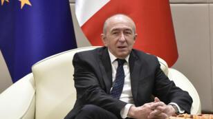 وزير الداخلية جيرار كولومب سيترشح لمنصب رئيس بلدية ليون في 2020