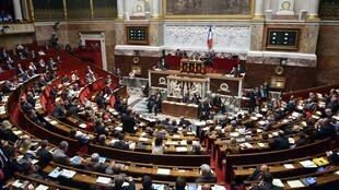 Photo d'archive de l'hémicylcle de l'Assemblée nationale en 2013.