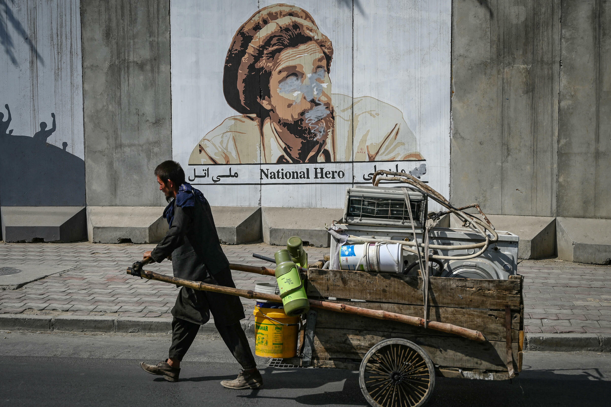 Afghanistan's economy relies almost entirely on aid, and last month's chaos crippled cash flow