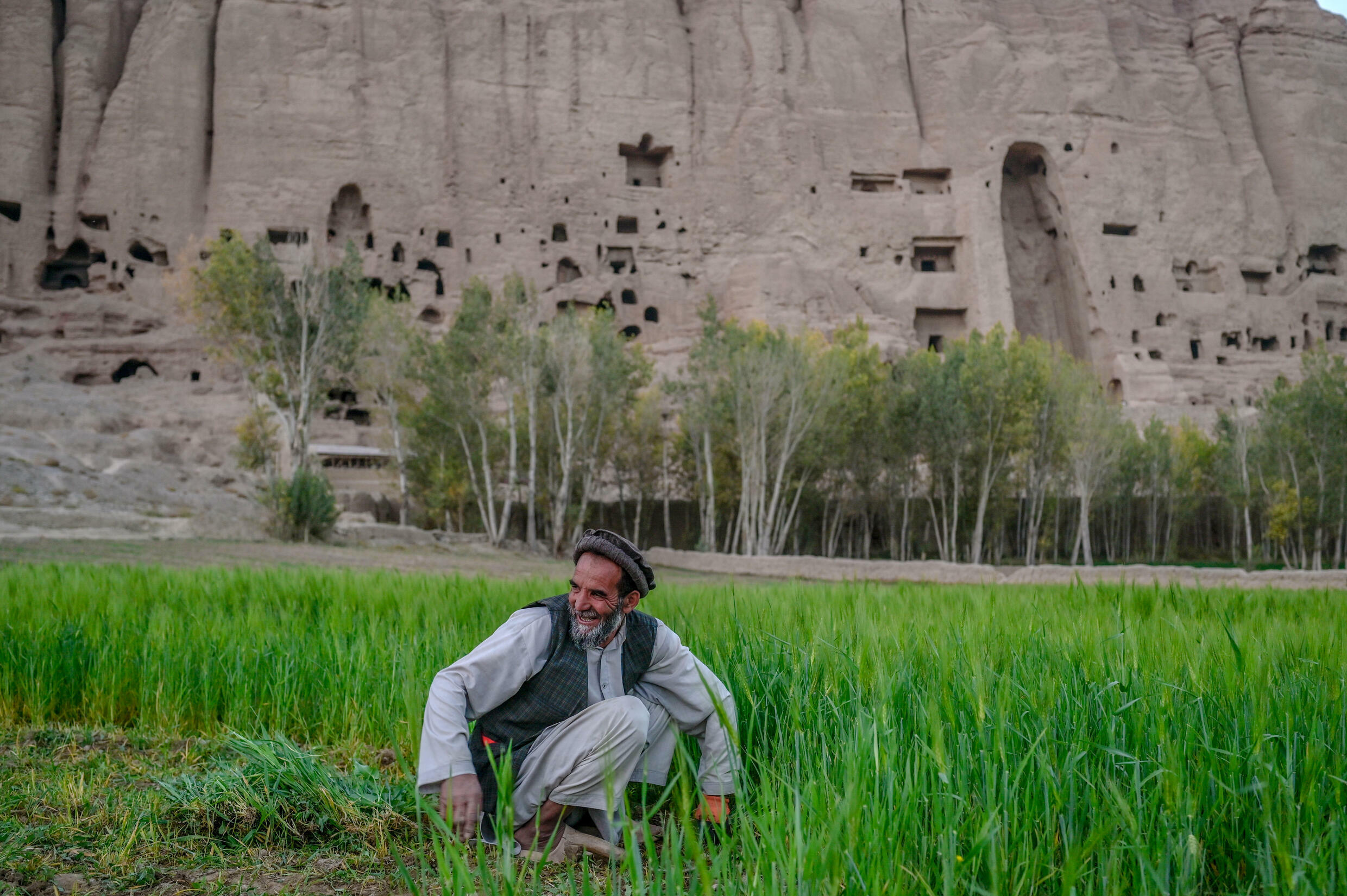 Bamiyan houses Buddha statues destroyed by the Taliban in their previous ruling