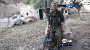 L'acteur britannique Michael Enright est parti en Syrie combattre l'EI aux côtés des combattants kurdes.